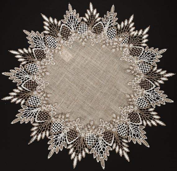 ways to use round and square doilies in your home