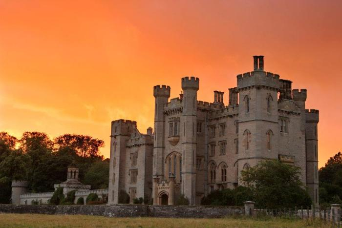 Duns Castle Sunset - Beauty and the Beat sweepstakes