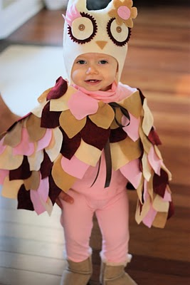 Owl Costume from Martin Family Times  sc 1 st  Lines Across & 30 Cutest Handmade Costumes for Kids - Lines Across