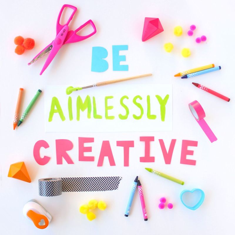 Be aimlessly creative @linesacross