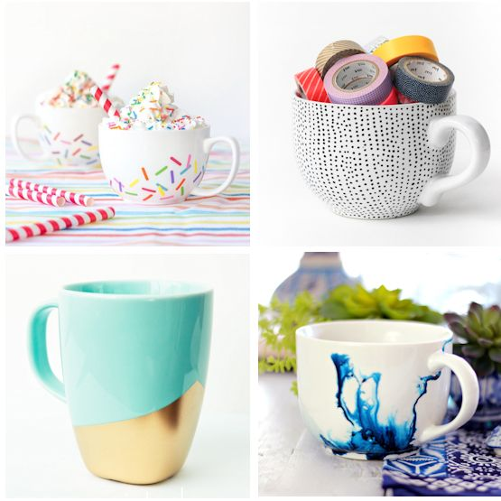 10 Simple and Beautiful Handmade Mugs