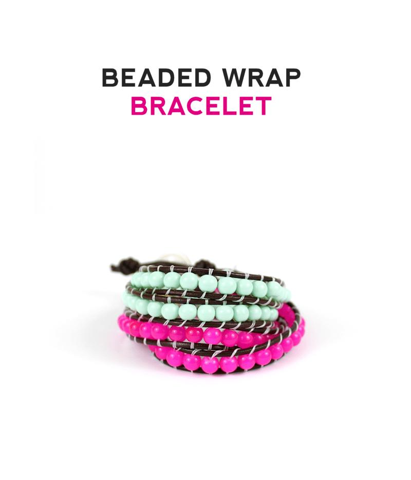Beaded Wrap Bracelets by @linesacross