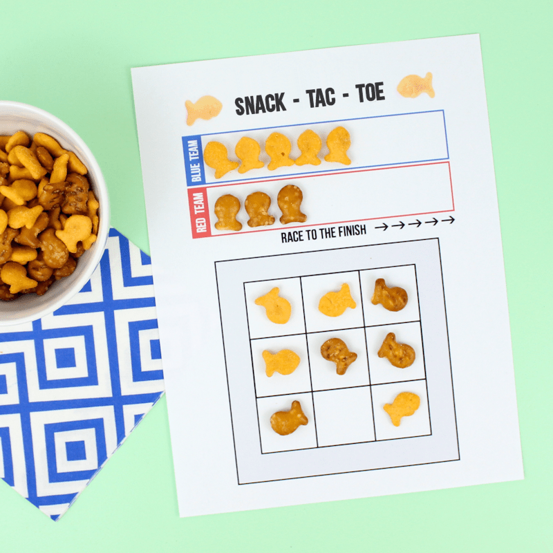 Free Printable Tic-Tac-Toe Game