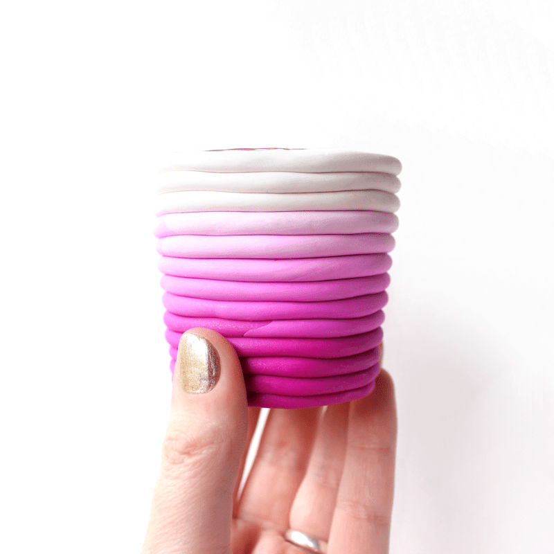 DIY  Candle Holder by @linesacross