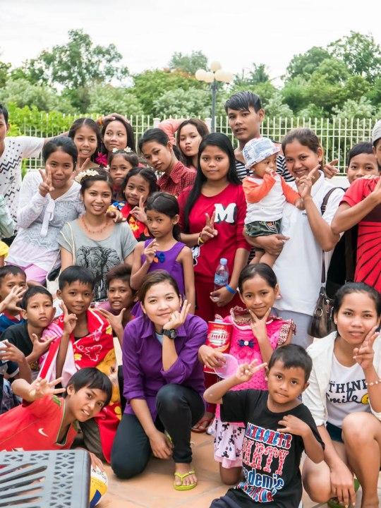 Volunteering in Cambodia Childcare Program