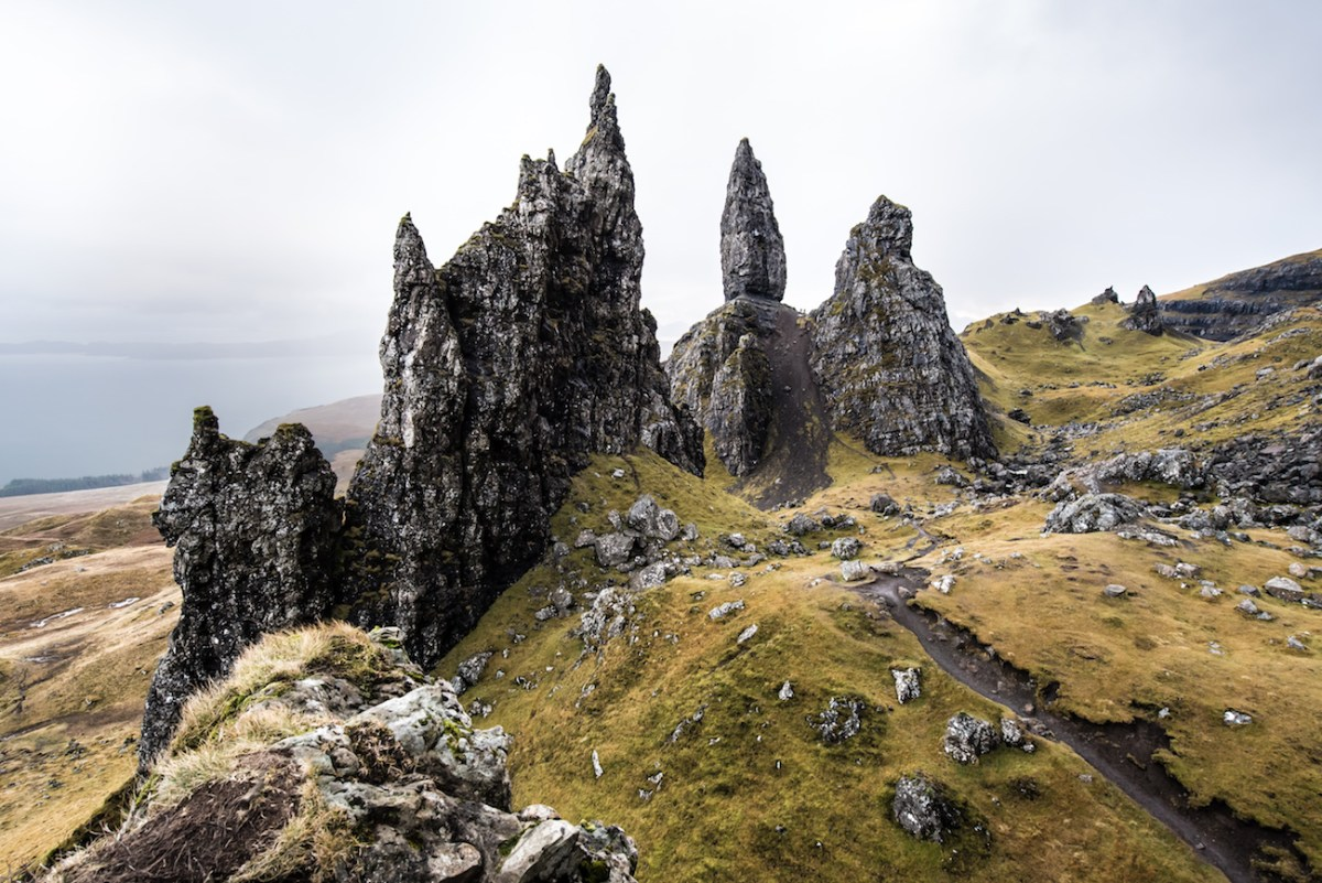 Old Man of Storr, Scotland - One of Skye's Iconic Hikes