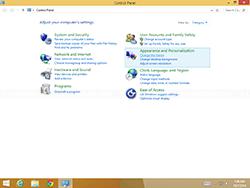 Windows 8.1 - Control Panel