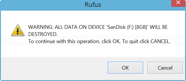 how to use rufus to make a bootable usb
