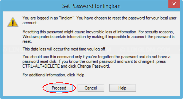how can i reset my computer without a password