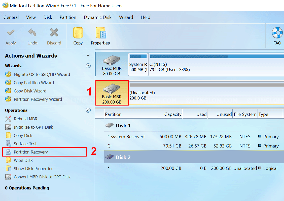 minitool partition wizard home edition mac