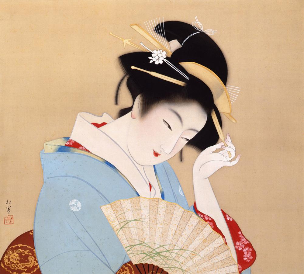 Shoen Uemura 140th Birthday Of The Japanese Painter