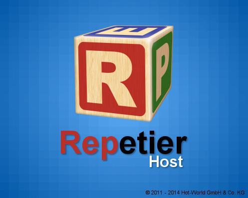 Repetier-Host intro logo