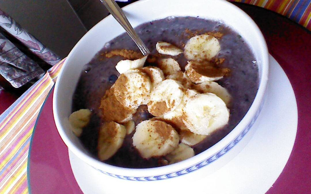 Blueberry Banana Bowl