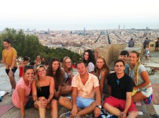 the bunkers - best view of barcelona