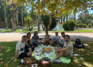 Linguaschools Clase en Jardines de Viveros