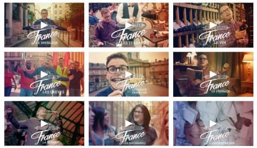 Montage d'aperçus de plusieurs épisodes de What the Fuck France