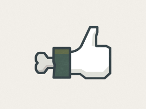 Bones thumbs up icon