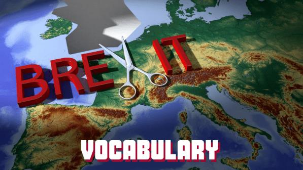 lien vers l'article sur le Vocabulaire du Brexit