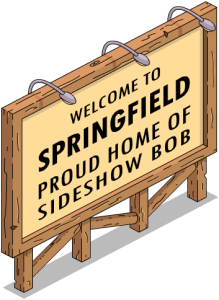 Springfield sign welcome