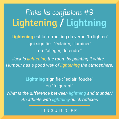 Lightening VS Lightning