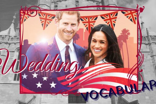 💍Pour leur 1 an de mariage le couple royal vous offre le vocabulaire anglais du mariage 🎉