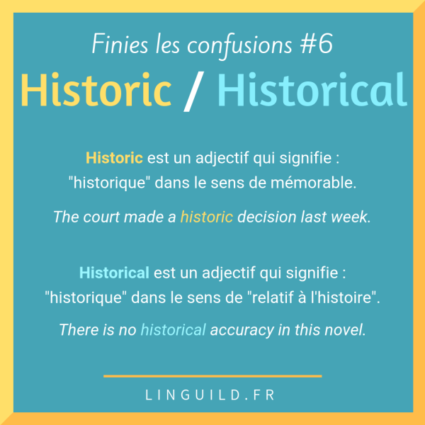 Fiche Finies les confusions #6
