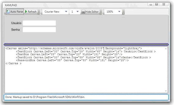 Windows Presentation Foundation - Introdução ao XAML