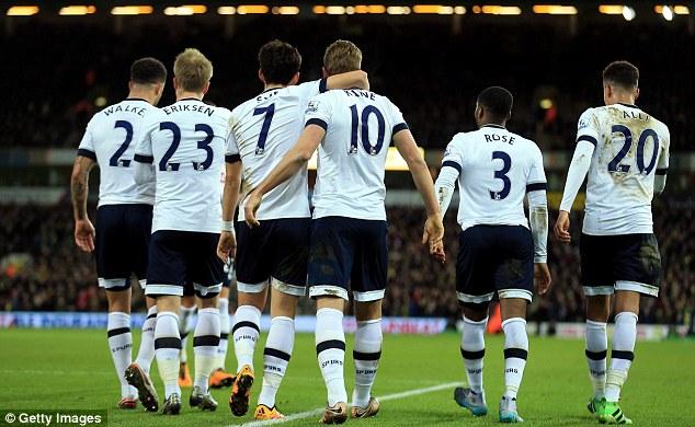 Alli, Erikse, Kane, Rose. Time jovem do Tottenham fez mais do que o esperado e jogou belo futebol. Só faltou ficar na frente do Arsenal na tabela...