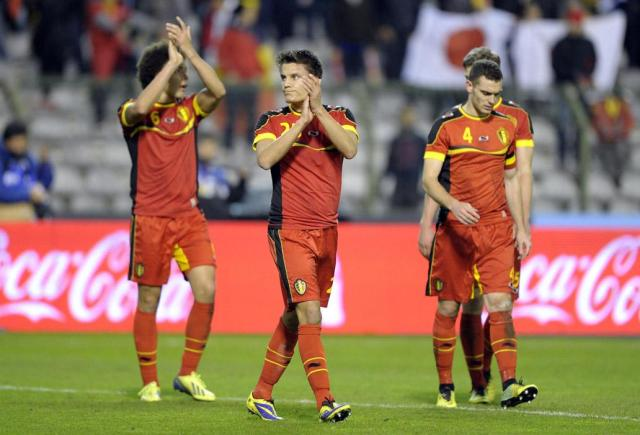 Com a seleção que tinha, era esperado um futebol mais vistoso do time belga em 2014