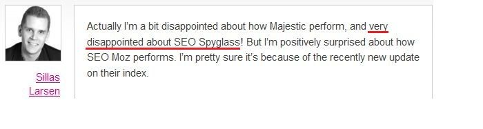 SEO SpyGlass vs Other Backlink Checkers: the Story of One Test
