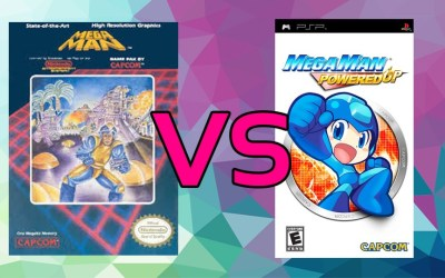 LC Loves: Mega Man VS. Mega Man: Powered Up