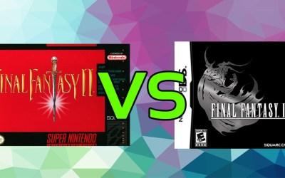 LC Loves: Final Fantasy II (USA) VS. Final Fantasy IV