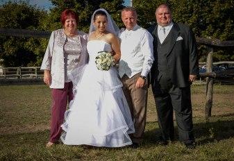 Esküvői öltöny normál és óriás méretben