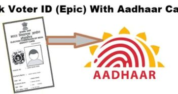 Link Aadhaar Card and Voter ID