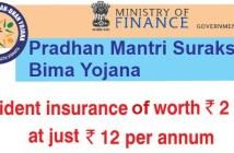 Pradhan Mantri Suraksha Bima Yojana