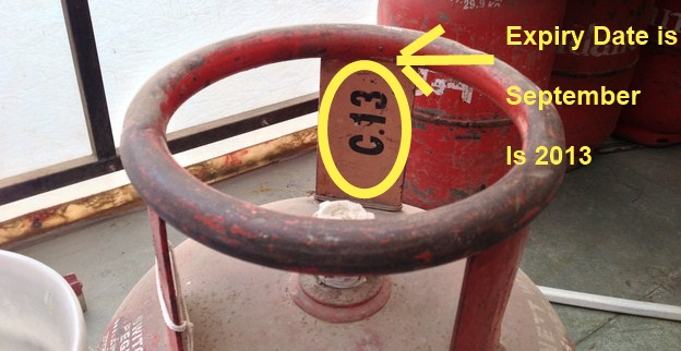 Image result for expired gas cylinder