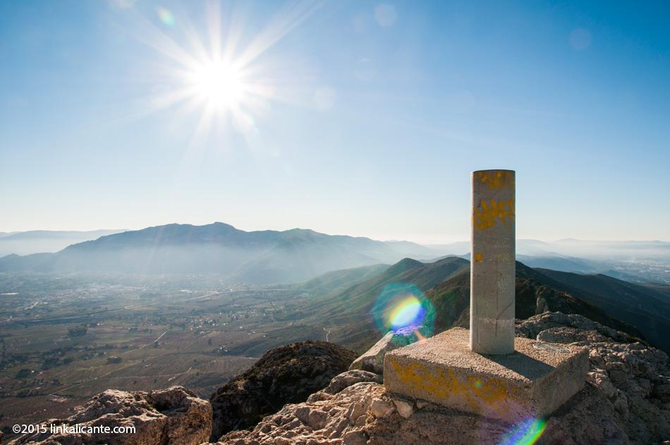 Benicadell desde Gaianes - Senderismo Alicante