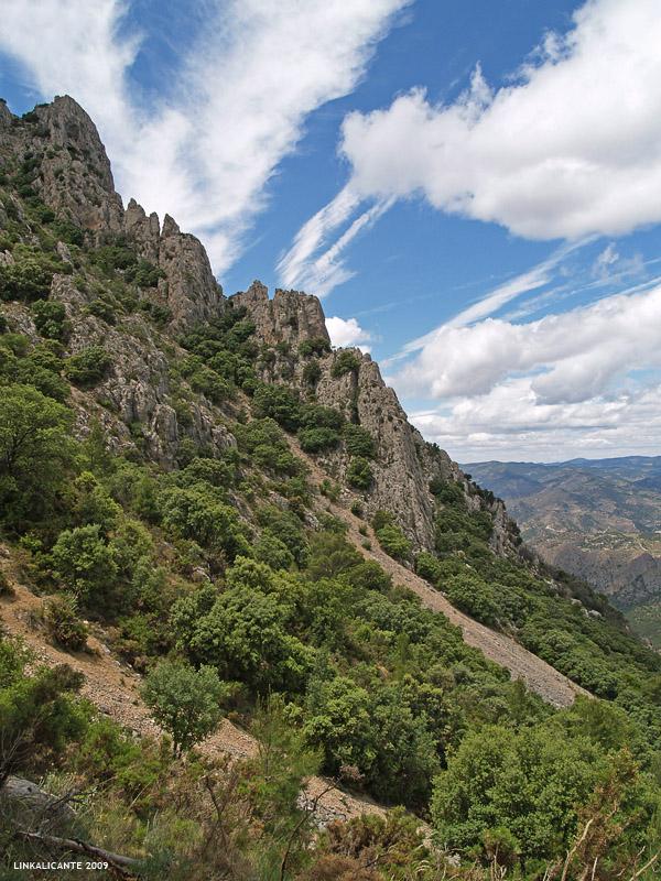 Puig Campana - cara norte