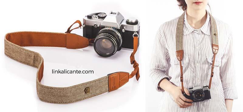 regalo correa vintage camara fotos