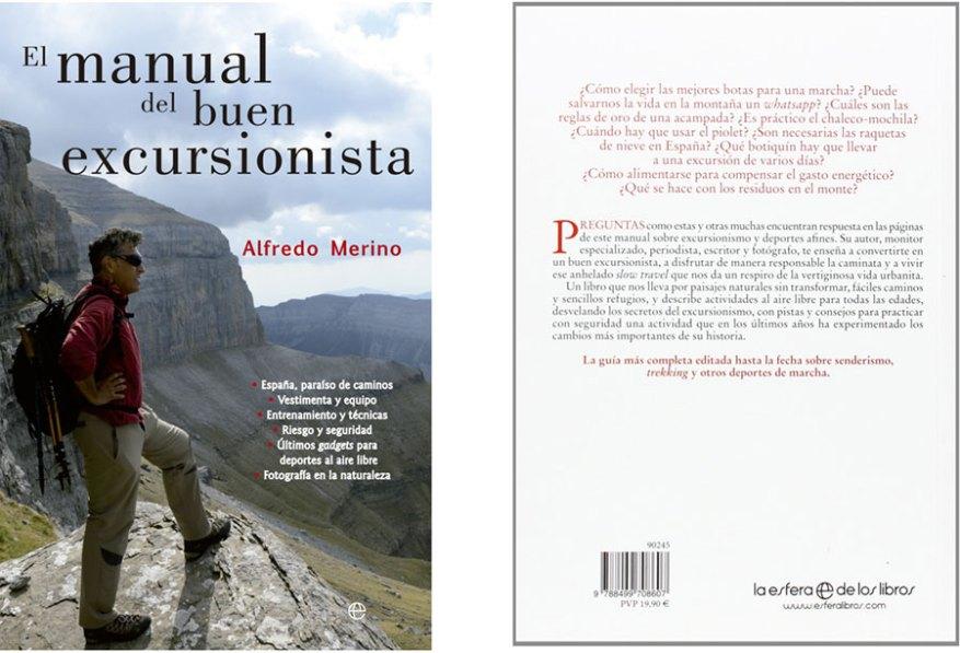 libro montaña manual buen excursionista