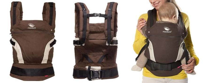 mochila portabebe manduca niños montaña