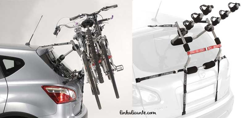 porta bicicletas coche correas porton