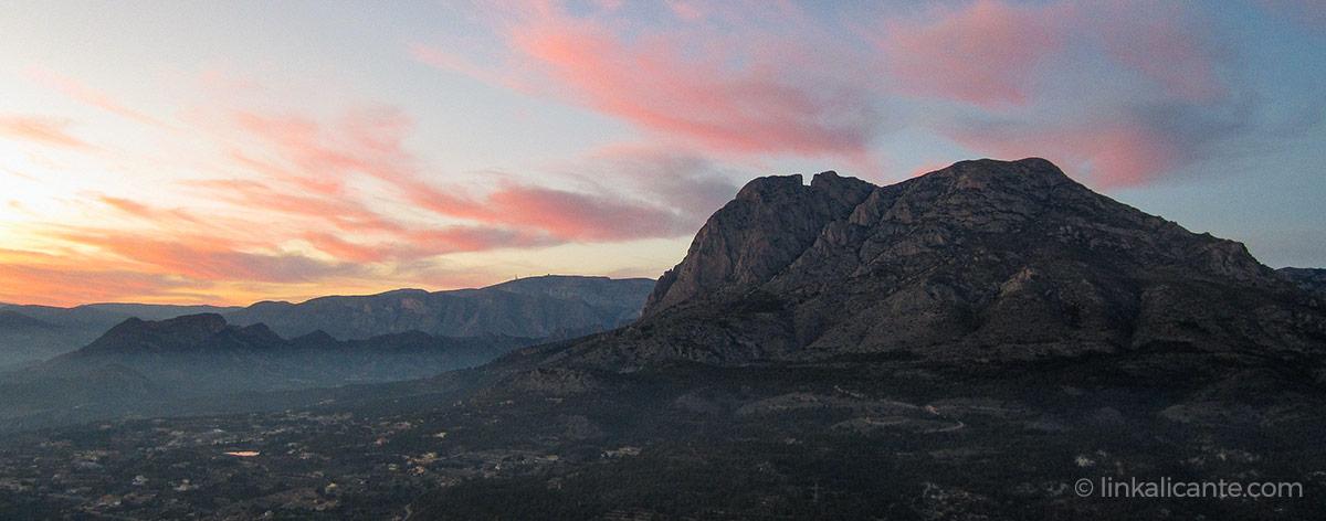 Puig Campana desde Finestrat