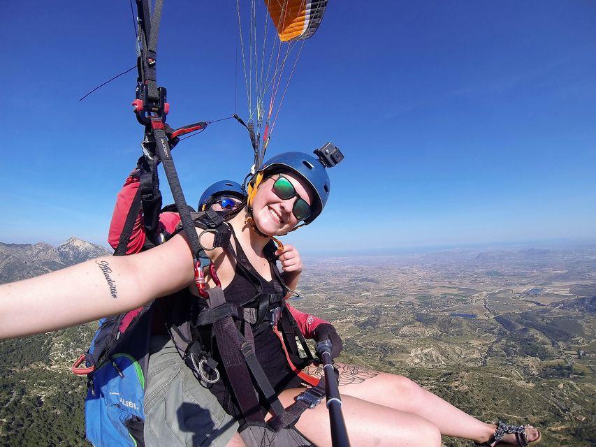 vuelo parapente alicante experiencia regalo