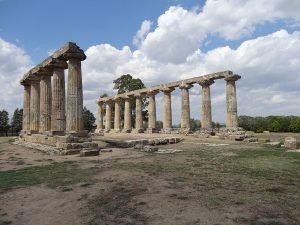 Tempio di Temple of Hera in Metaponto, Italya Metaponto, Italia