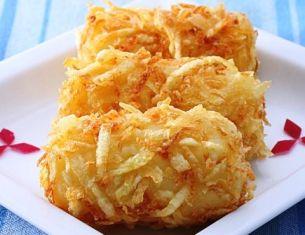 foto ricetta crocchette al formaggio e mandorle