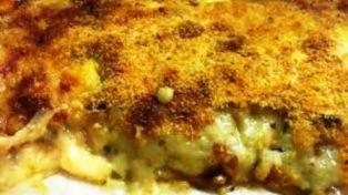 foto ricetta pasticcio patate provola salsiccia