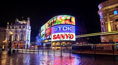 La splendida Piccadilly Circus