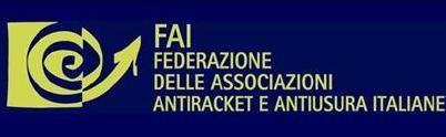 FAI -  Federazione delle Associazioni antiracket e antiusura italiana