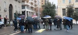 Scuolabus: la protesta davanti palazzo San Giacomo